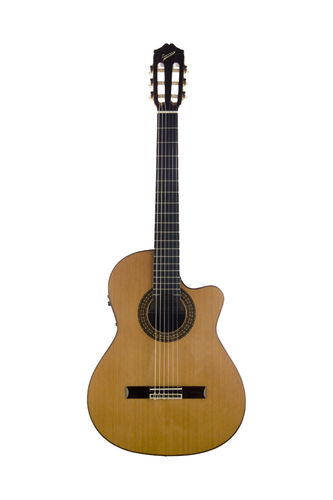 Cuenca 50 R CW E2 – acoustic guitar with microphone
