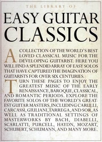 The Library of Easy Guitar Classics - Amsco