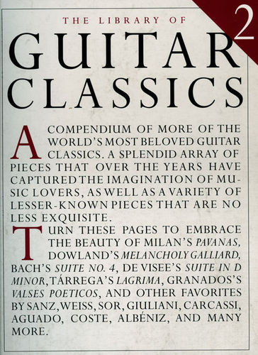 The Library of Guitar Classics 2 - Amsco