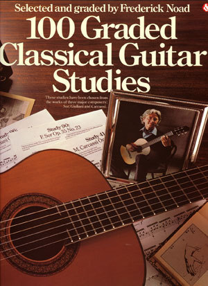 100 Graded Classical Guitar Studies - Frederick Noad