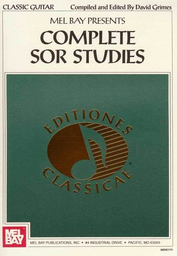 Complete Sor Studies - David Grimes / Mel Bay