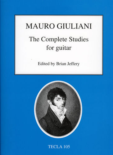 Mauro Giuliani - The Complete Studies for Guitar - Tecla