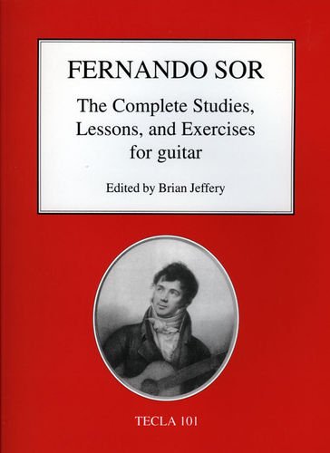 Fernando Sor - The Complete Studies, Lessons, and Exercises for guitar - Tecla