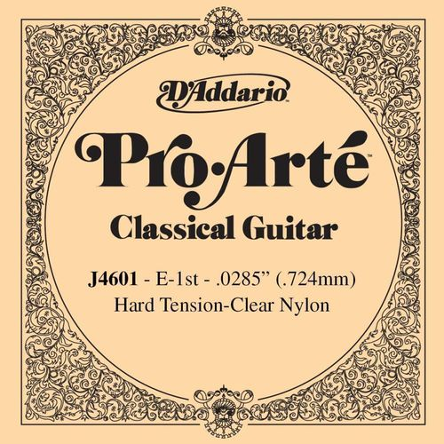 D'Addario Pro Arte J4601 - 1st string, Hard Tension