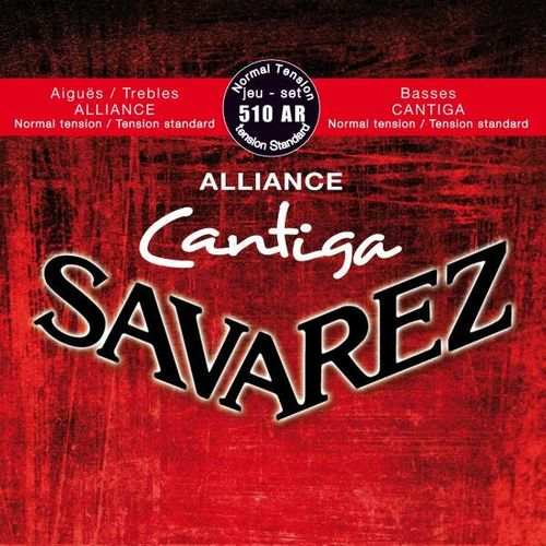 Savarez Cantiga Alliance 510 AR, Normal tension