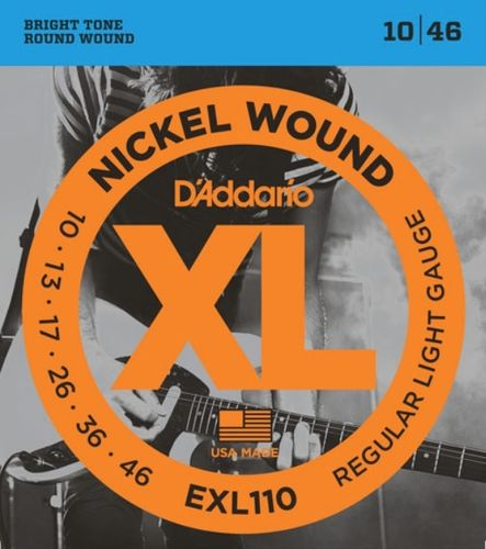 D'Addario EXL110-3D – Electric Guitar Strings