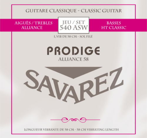 Savarez Prodigy Alliance 540 ASW - for 3/4 guitar