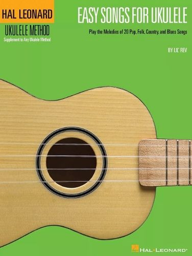 Ukulele Method, Easy Songs for Ukulele (CD) - Hal Leonard