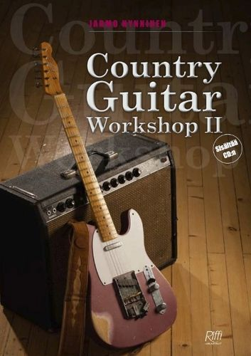Country Guitar Workshop 2 (book & CD) – Jarmo Hynninen