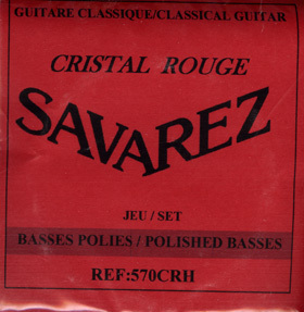 Savarez 570CRH - Cristal Rouge High
