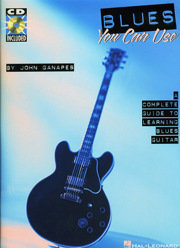 Blues You Can Use (kirja+CD) - John Ganapes