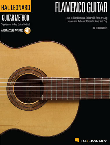 Flamenco Guitar Method (kirja + CD) – Hal Leonard