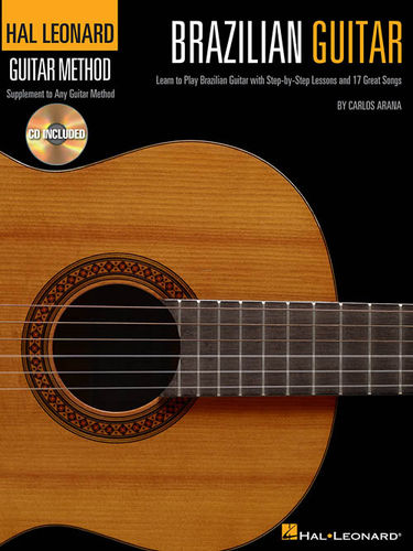 Brazilian Guitar Method (CD) – Carlos Arana