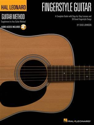 Fingerstyle Guitar Method (mukana CD) – Chad Johnson