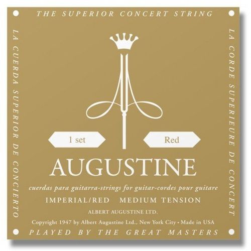 Augustine Augustine Imperial Red High/Medium - Classical Guitar Strings