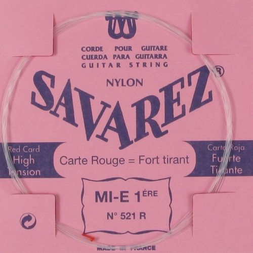 Savarez 521 R – 1st string