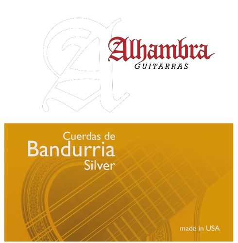 Alhambra Silver - Strings for Bandurria