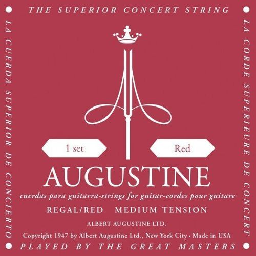 Augustine Regal Red Extra High/Medium