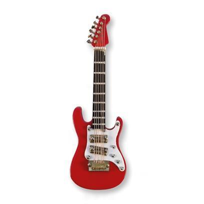 Magnet: Electric Guitar (red/white)