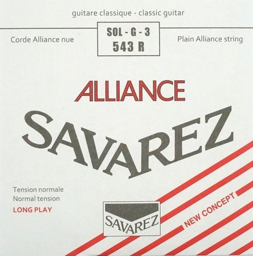 Savarez Alliance 543 R – 3rd string