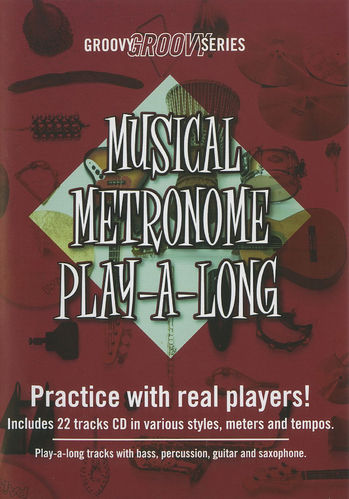 Groovy Series - Musical Metronome Play-A-Long (CD)