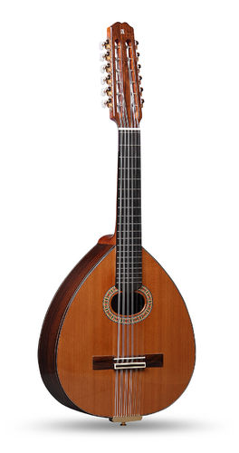 Alhambra Lute 4P + Hard Case