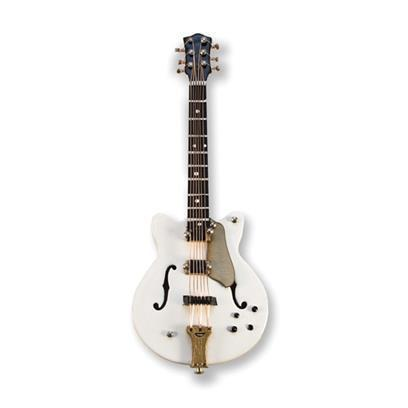 Magnet: Electric Guitar (white/gold)