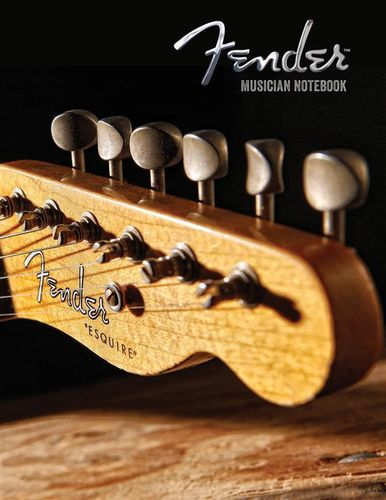 Fender Musicians Notebook Manuscript