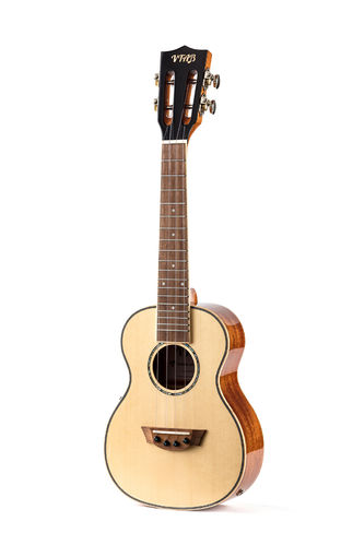 Concert ukulele with microphone - VTAB TSX-CQ15