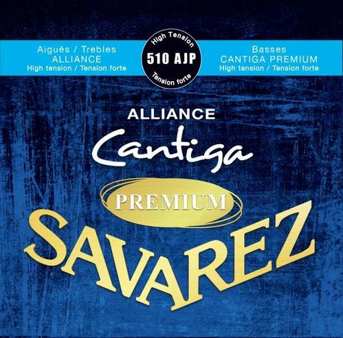 Savarez Cantiga Alliance Premium 510 AJP, High Tension
