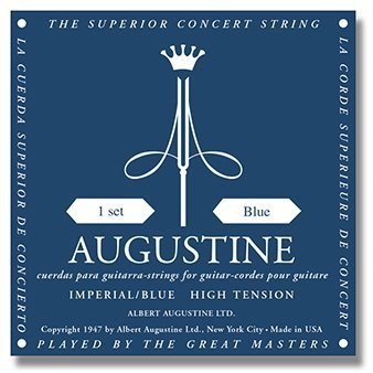 Augustine Augustine Imperial Blue High/High - Classical Guitar Strings