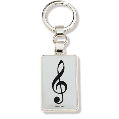 Key chain: G-clef
