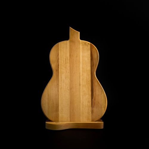 Design Cutting Board - Acoustic Guitar