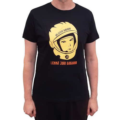 Juri Gagarin black t-shirt (Regular)