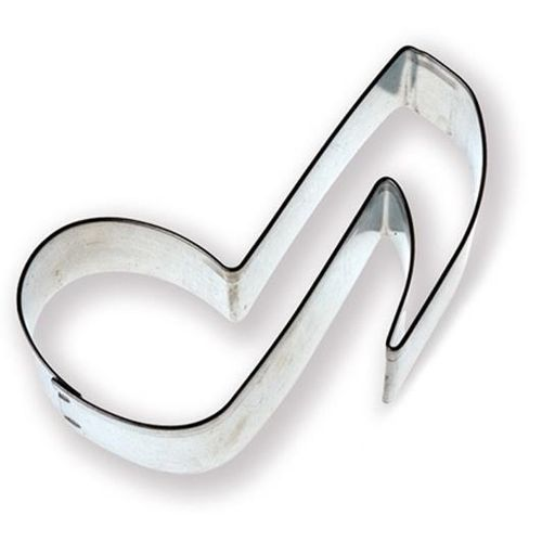Quaver Cookie Cutter