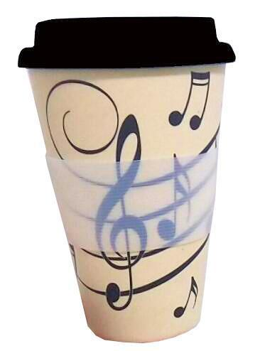 Music Notes - Travel Mug