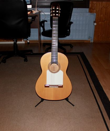 2nd HAND FLAMENCO GUITAR Marcelino Lopez Nieto 1961