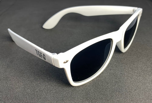 TGF sunglasses, white