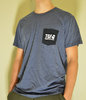 Blue TGF t-shirt with breast pocket (Regular O)