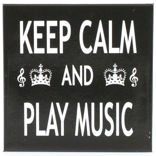 Magneetti - Keep Calm & Play Music