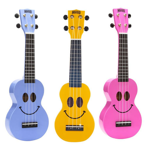 Mahalo Smiley Series Soprano Ukulele for kids
