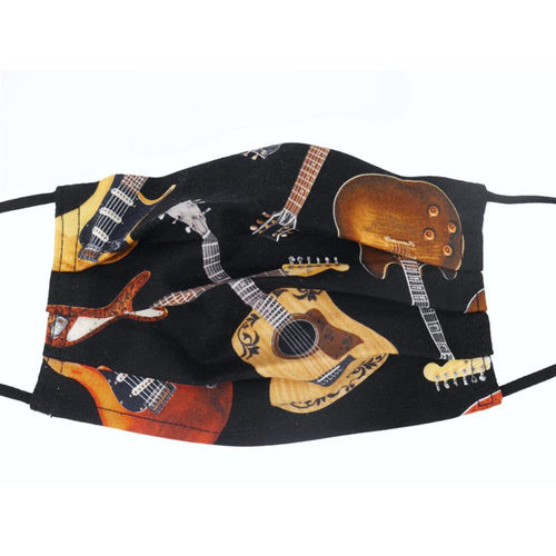 Face Covering Mask – Guitars (Design 31)