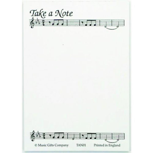 Notepad - Take a Note (A6)