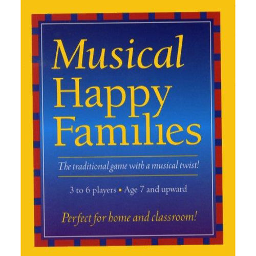 CARD GAME – Musical Happy Families: Quartet
