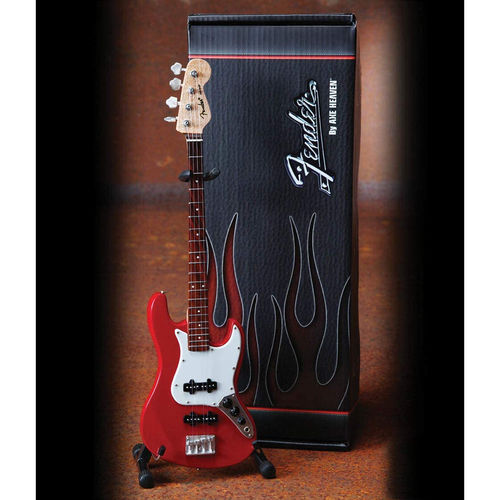 Fender™ Jazz Bass™ - Classic Red -pienoismalli FJ-001